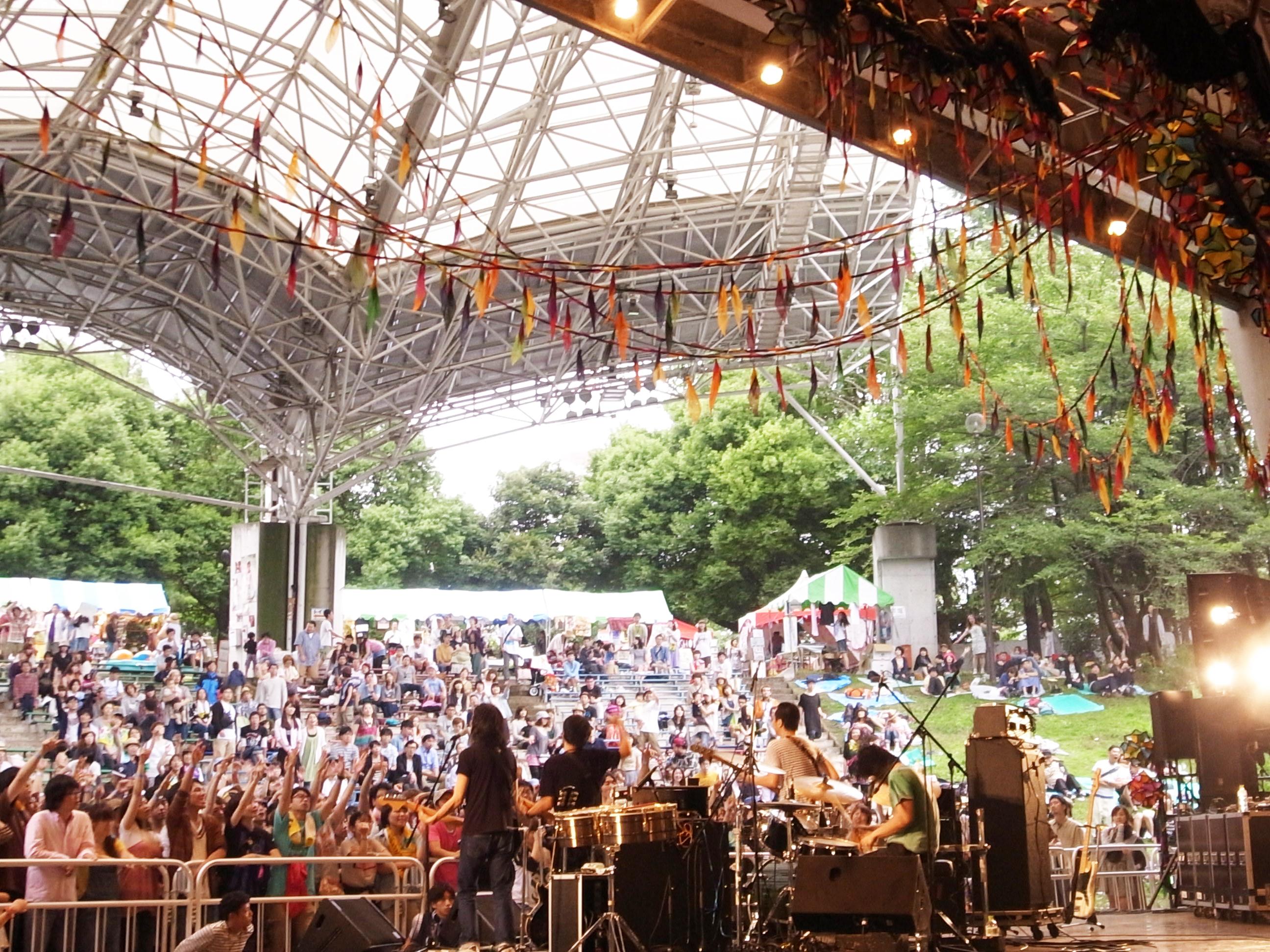 曽我部恵一BAND LIVEセットリストUPしました。7/22<夏びらきMUSIC FESTIVAL'12>@所沢航空記念公園 野外ステージ