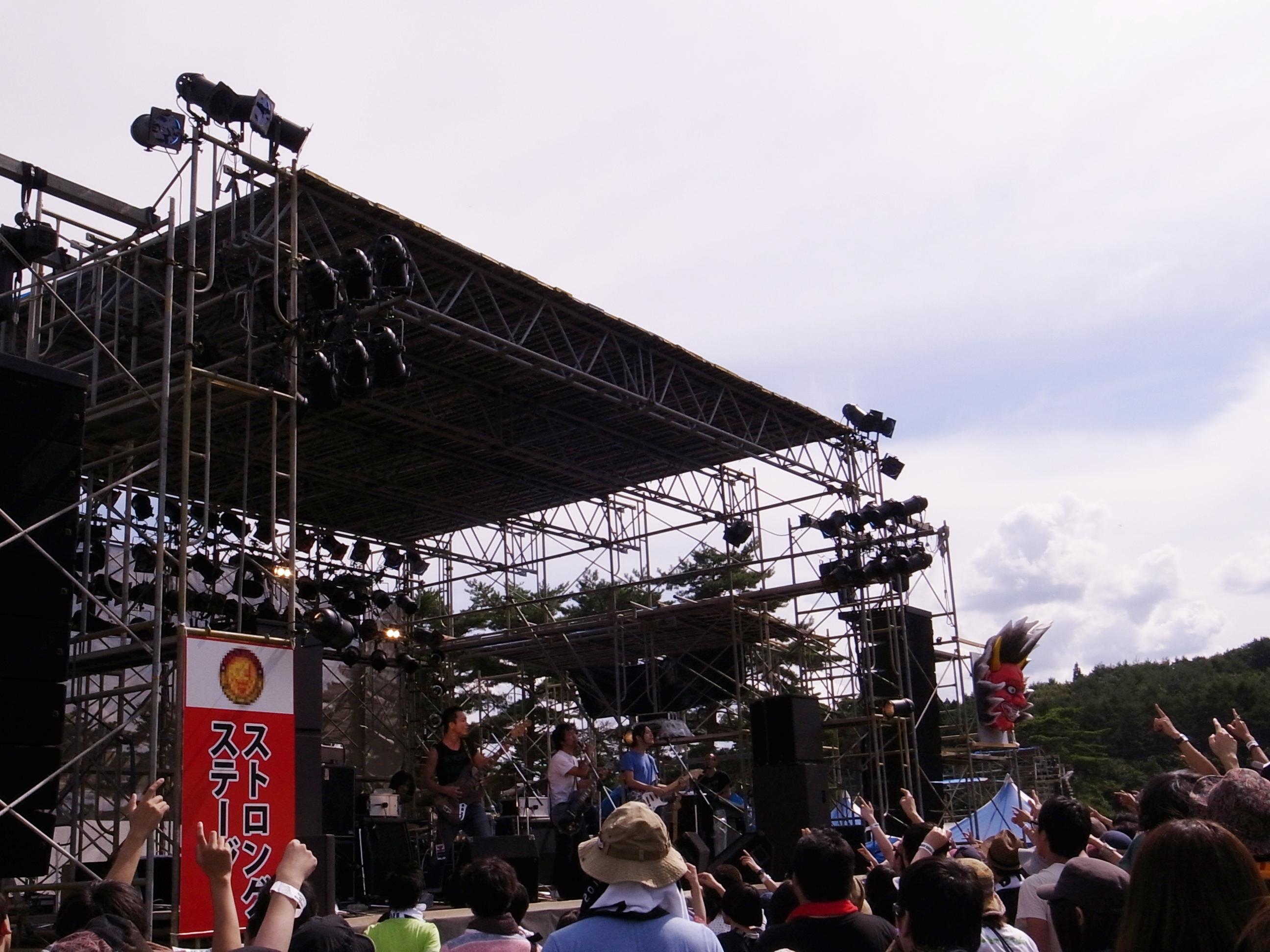 曽我部恵一BAND LIVEセットリストUPしました。9/22<AOMORI ROCK FESTIVAL'12〜夏の魔物〜>@青森 夜越山スキー場