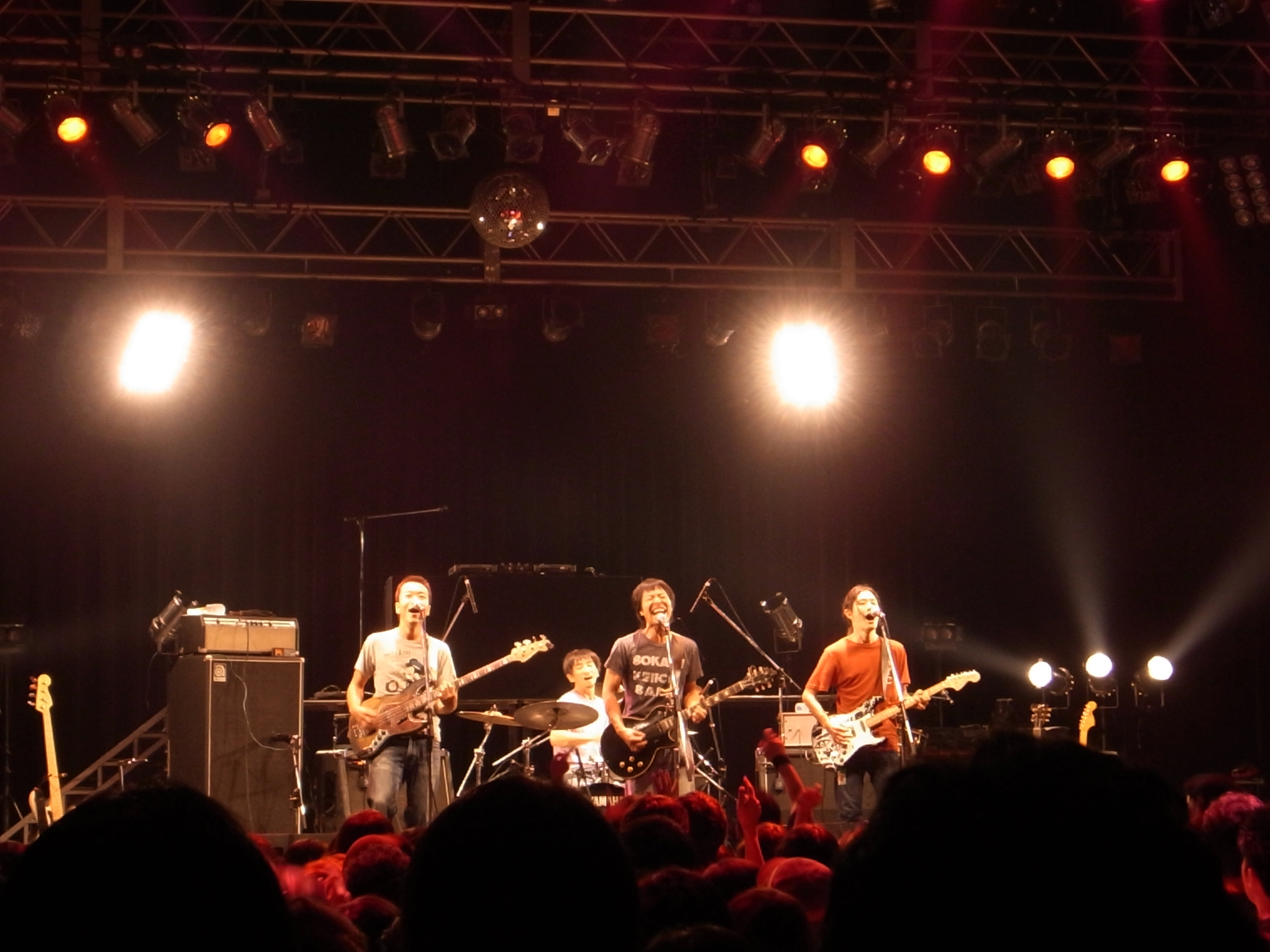 曽我部恵一BAND LIVEセットリストUPしました。10/3<やついいちろう PLATINUM DISC RELEASE PARTY>@東京 shibuya O-EAST