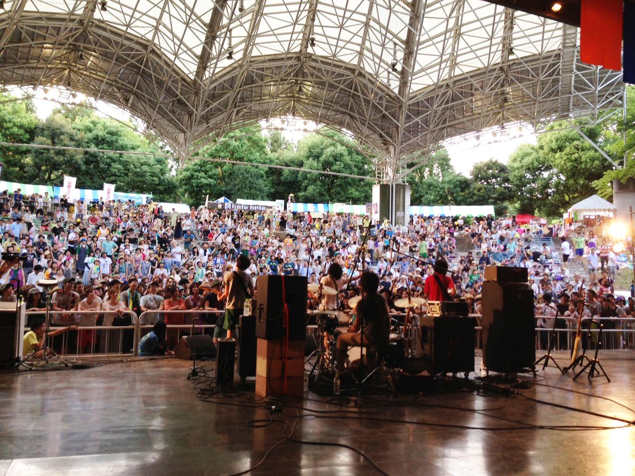 曽我部恵一BAND LIVEセットリストUPしました。7/20<夏びらきMUSIC FESTIVAL'13>@所沢航空記念公園