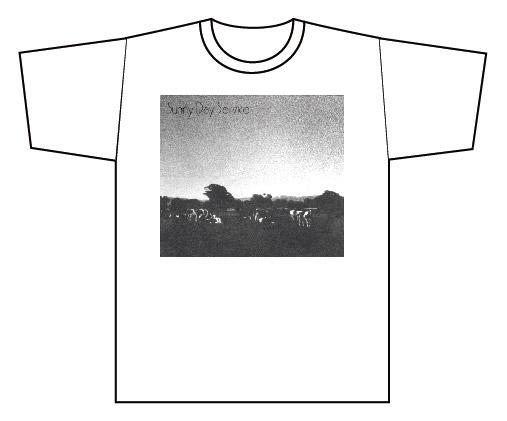 ROSE RECORDSオンラインショップにサニーデイ・サービス牛Tシャツも再入荷しました。