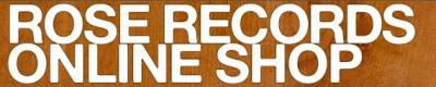ROSE RECORDSオンラインショップ発送業務休業日のお知らせ