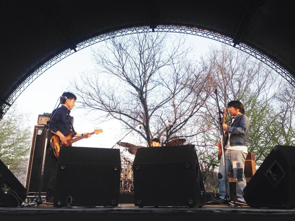曽我部恵一,サニーデイ・サービス LIVEセットリストUPしました。4/25,26<ARABAKI ROCK FEST.15>@宮城エコキャンプみちのく