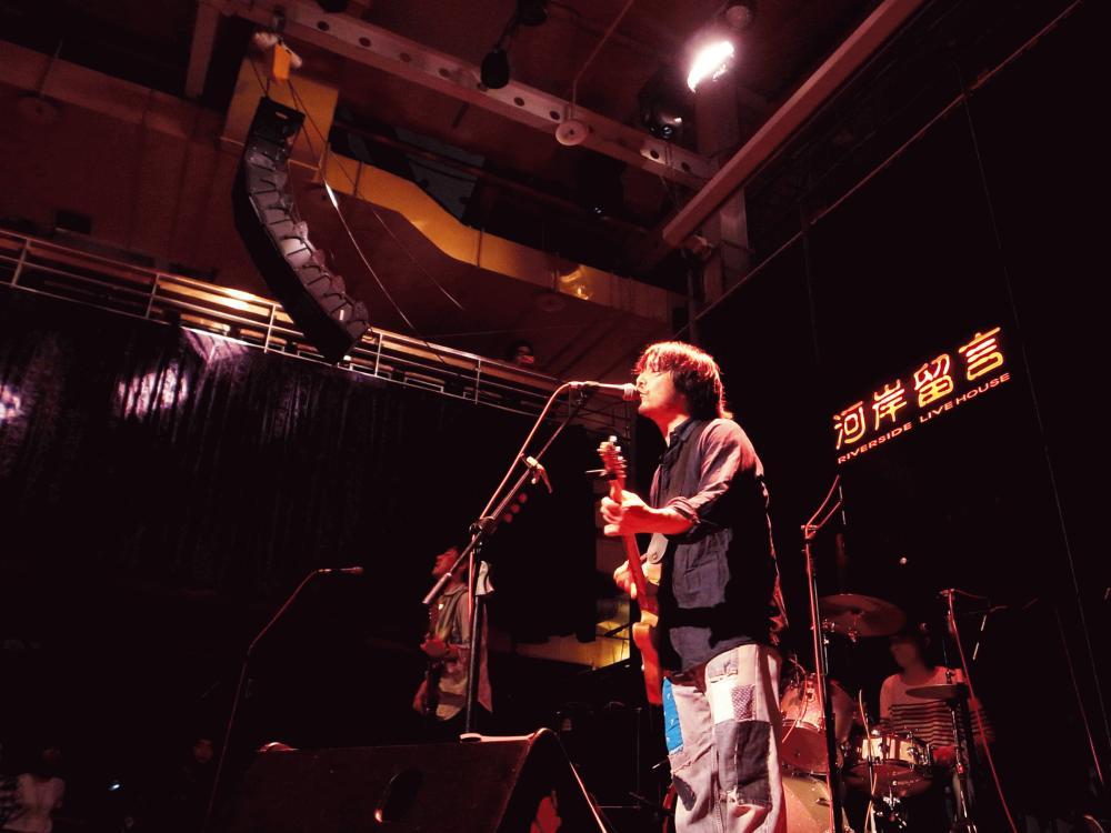 サニーデイ・サービス LIVEセットリストUPしました。5/30<SUNNY DAY SERVICE Asia tour Live in Taiwan>@台湾 Riverside Live House