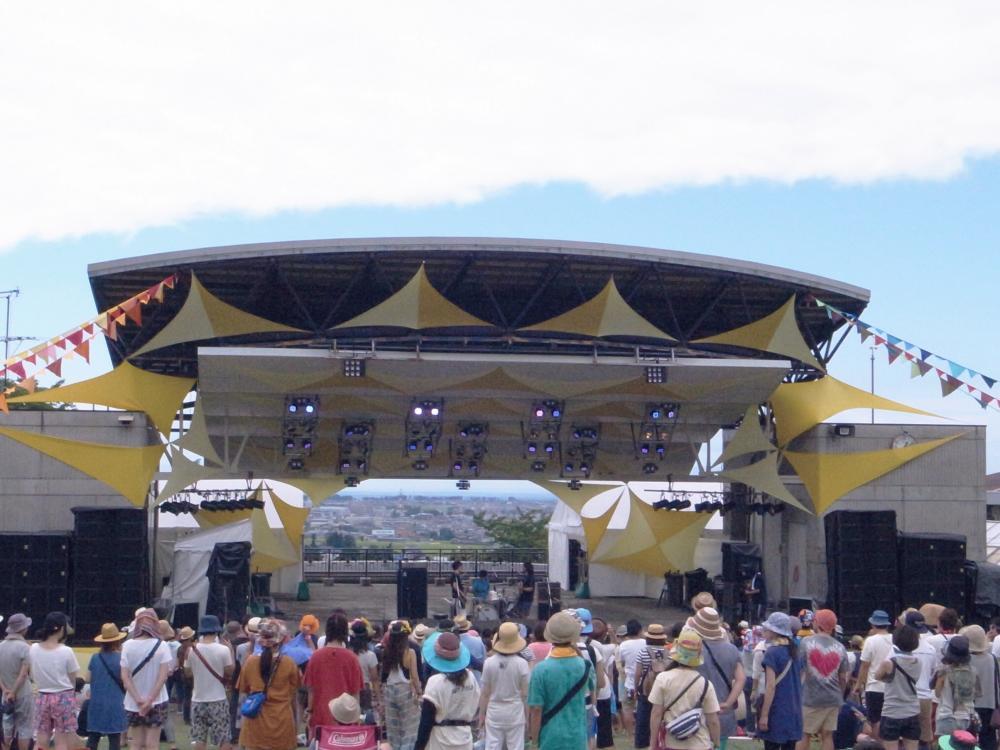 サニーデイ・サービス LIVEセットリストUPしました。8/23<ホットフィールド2015>@富山 黒部市宮野運動公園