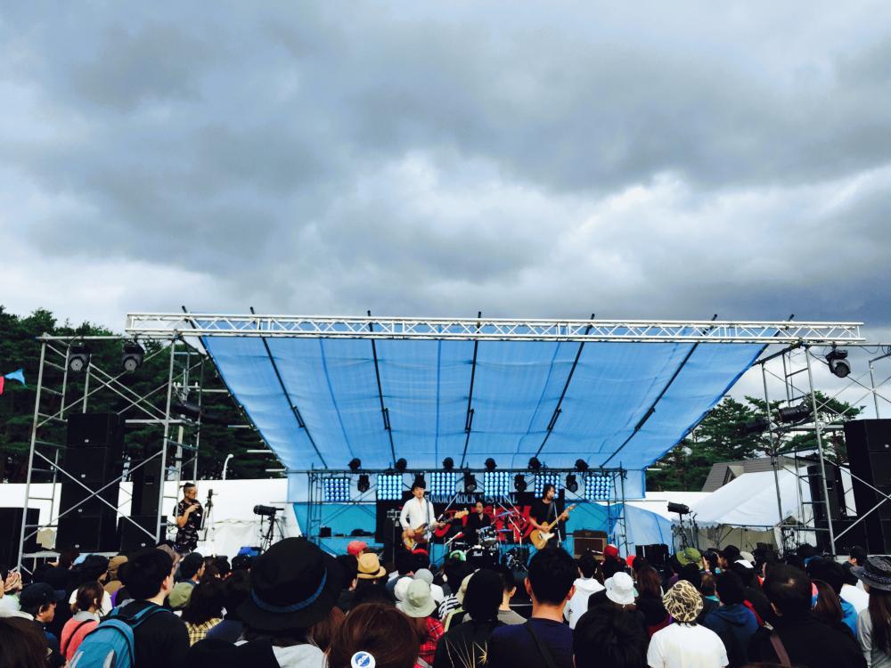 サニーデイ・サービス LIVEセットリストUPしました。9/12<AOMORI ROCK FESTIVAL'15〜夏の魔物〜>@青森 夜越山スキー場