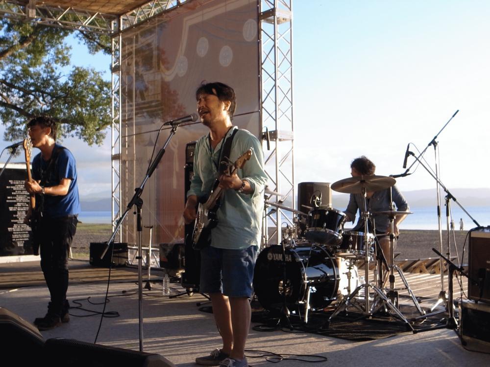 サニーデイ・サービス LIVEセットリストUPしました。7/31<オハラ☆ブレイク'16夏>@福島 猪苗代湖畔 天神浜