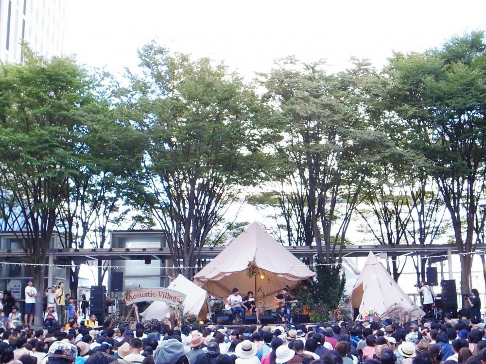 サニーデイ・サービス LIVEセットリストUPしました。9/3<Acoustic Village 2016>@さいたまスーパーアリーナ けやきひろば