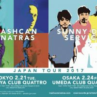 <Trashcan Sinatras & Sunny Day Service Tour 2017> 2/21渋谷クアトロ、2/24梅田クアトロ が決定しました。