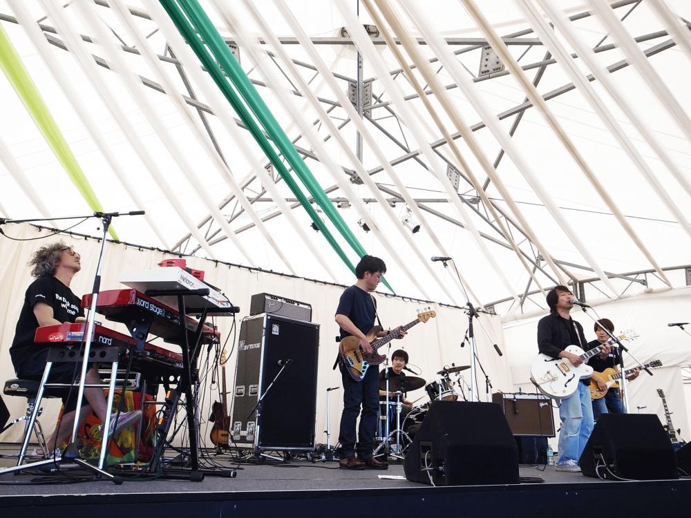 サニーデイ・サービス LIVEセットリストUPしました。6/3<頂 -ITADAKI- 2017>@静岡 吉田公園特設ステージ