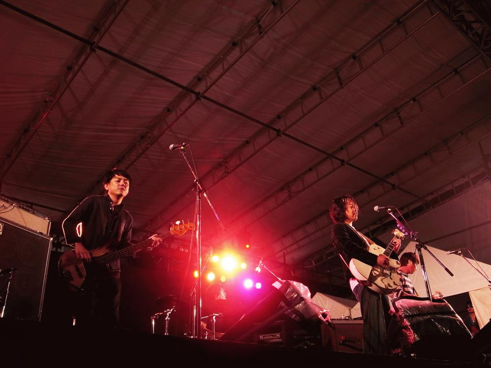 サニーデイ・サービス LIVEセットリストUPしました。10/21<TOYOTA ROCK FESTIVAL 2017>@豊田スタジアム外周