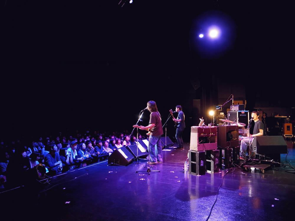 サニーデイ・サービス LIVEセットリストUPしました。1/20<中村一義デビュー20周年ライブイベント「20→」(トゥエンティ・ゴー)>@Zepp Tokyo