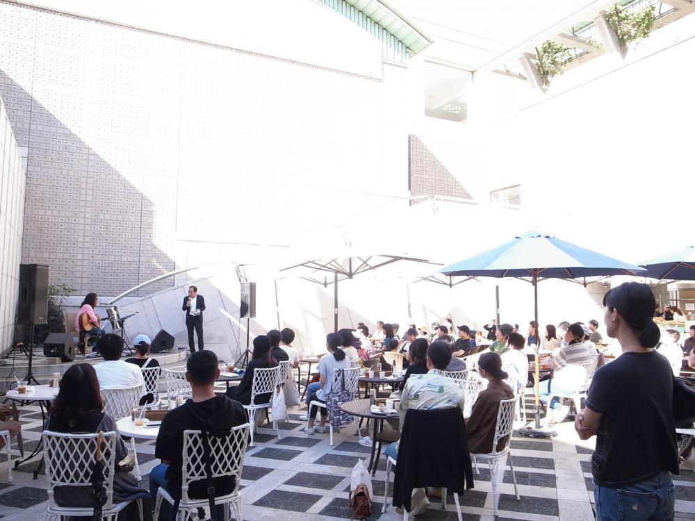 曽我部恵一 LIVEセットリストUPしました。10/7<Bienvenue au Setabicafé!~ようこそセタビカフェへ~第一回ミニコンサート 曽我部恵一>@世田谷美術館 セタビカフェ