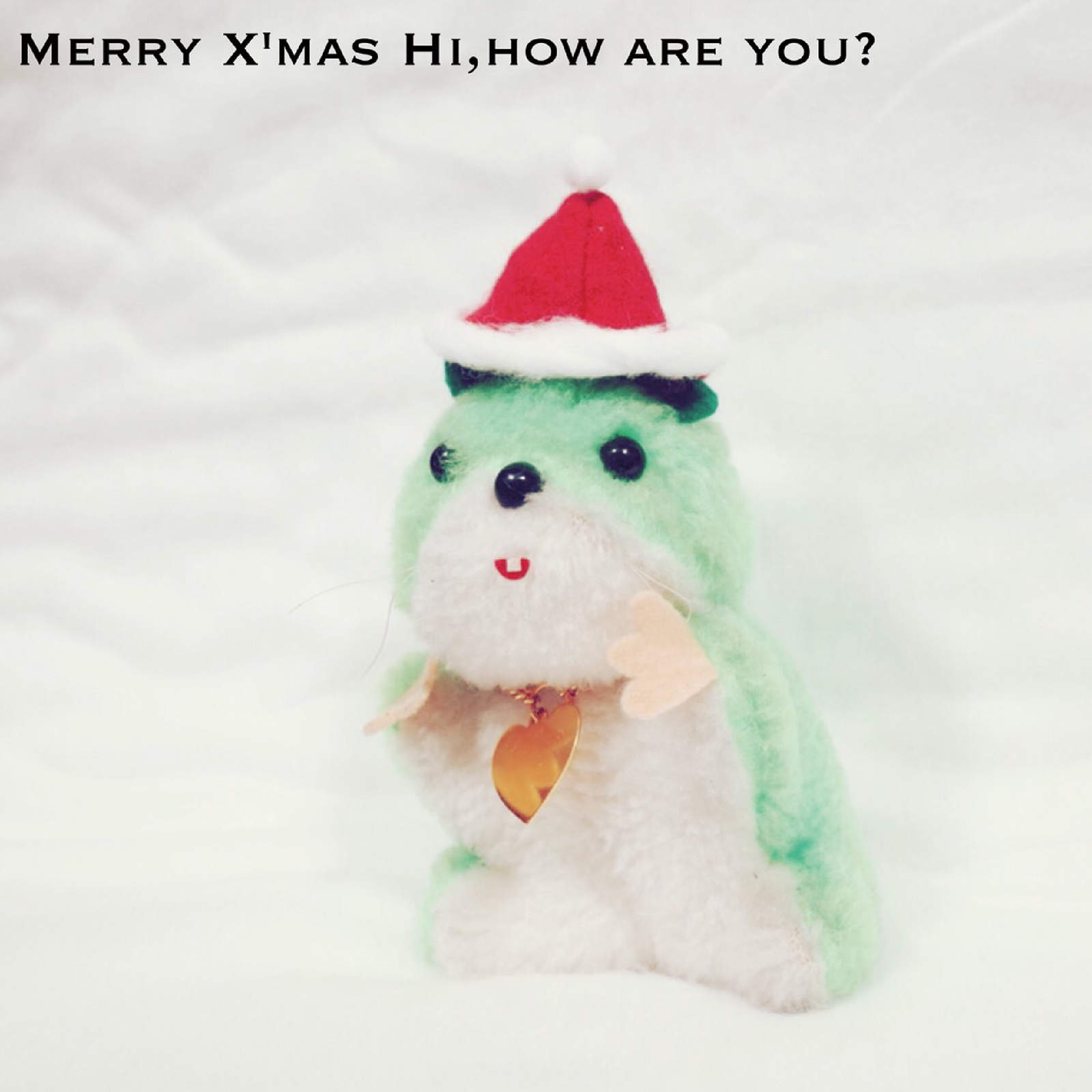 Hi,how are you? アナログ7inch『Merry Xmas,Hi,how are you?』の予約受付を開始しました。