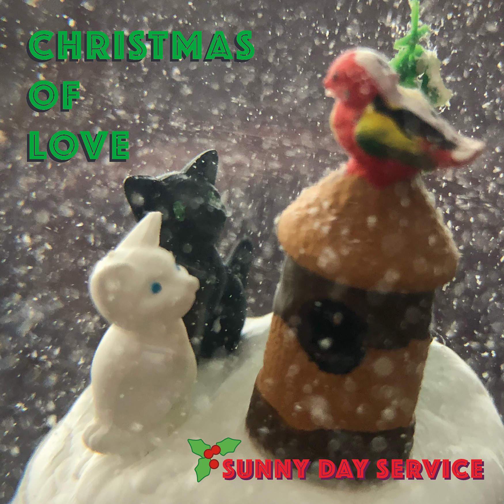 サニーデイ・サービスのクリスマスシングル『Christmas of Love』CDの発売が決定 & ROSEオンラインショップの予約受付を開始しました。