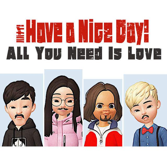 Have a Nice Day!の新作「愛こそすべて」のミキシングを曽我部恵一が担当しました。