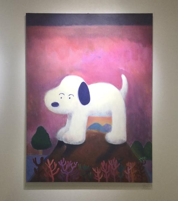 5/1〜30までBEAMS 新宿店で行われる<Bギャラリー>のギャラリーコレクション展に牧田純出展してます。