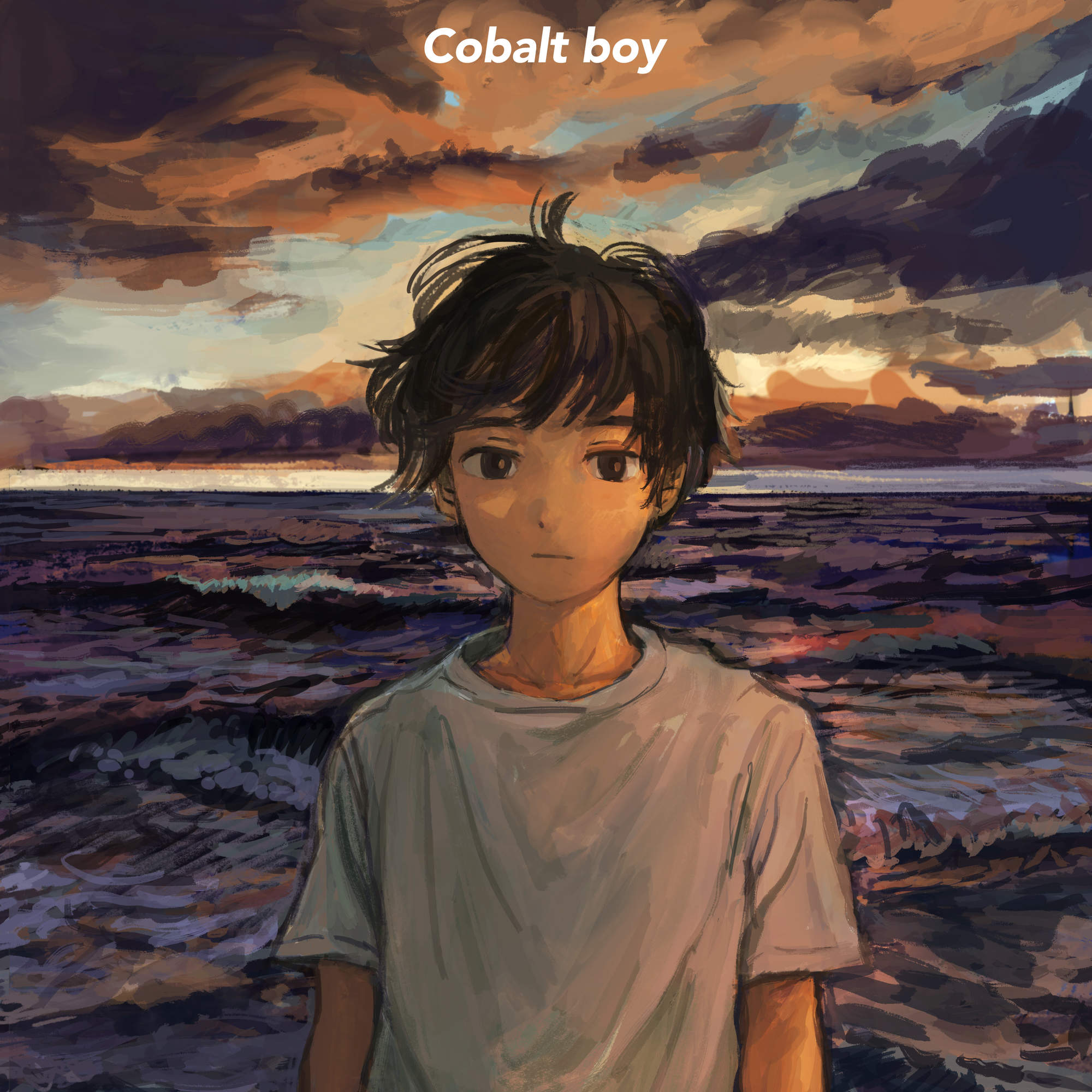 Cobalt boy 1stアルバム『SANSO』本日より配信スタート!限定プレスのCDとLPは9月29日リリース!!ROSE通販部ではただ今よりCD、レコードに加え、ジャケットデザインTシャツの予約受付開始!