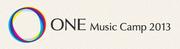 <ONE Music Camp 2013> @兵庫 三田アスレチック野外ステージ