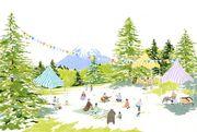 <森のカフェフェス in ニセコ 2013> @北海道 ニセコ町 ニセコビレッジ