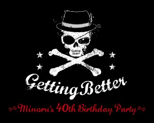 <Getting Better~Minoru's 40th Birthday Party~> @東京 下北沢 CLUB Que