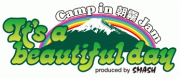 <It's a beautiful day Camp in 朝霧JAM> @静岡 富士宮市 朝霧アリーナ
