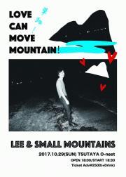 <単独!Love can move mountain!>@TSUTAYA O-nest